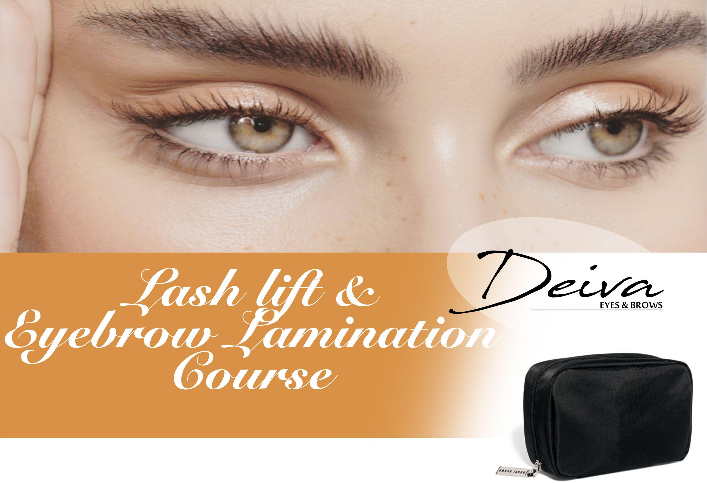 Lash Lift & Eyebrow Lamination Course